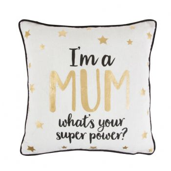 Sass & Belle - Mum Superpower Cushion
